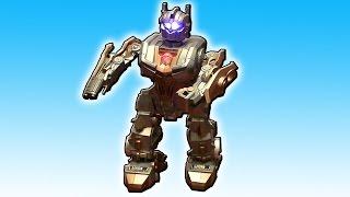 Очень странный Робот