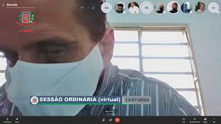 13ª Sessão Ordinária (virtual) - 13/07/2020