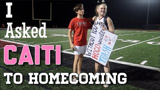 I ASKED CAITI TO HOMECOMING... + school VLOG