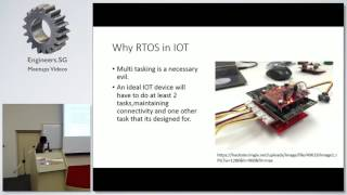 The Free RTOS real time kernel and its application in IOT (Demo with Ameba RTL8195A) - Hackware v2.3