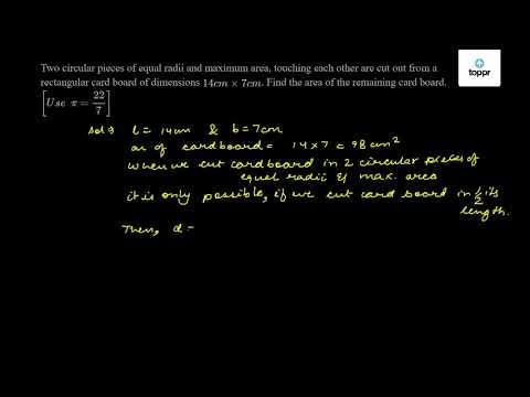 Area and Perimeter of Circle and Semi-Circle: Formulas