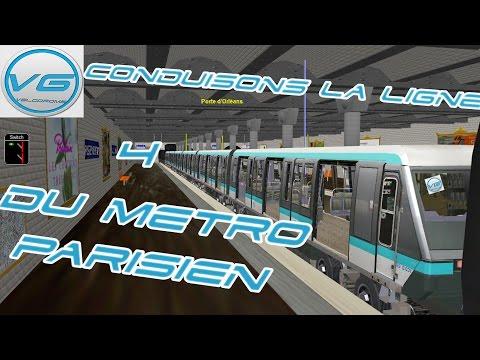 MSTS | Metro 4 : Porte clignancourt - Porte d'orleans