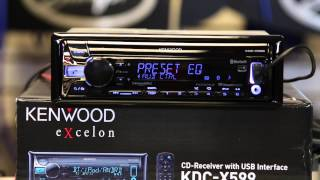Kenwood Excelon's new 2015 Eq on the KDC X399 and KDC X599