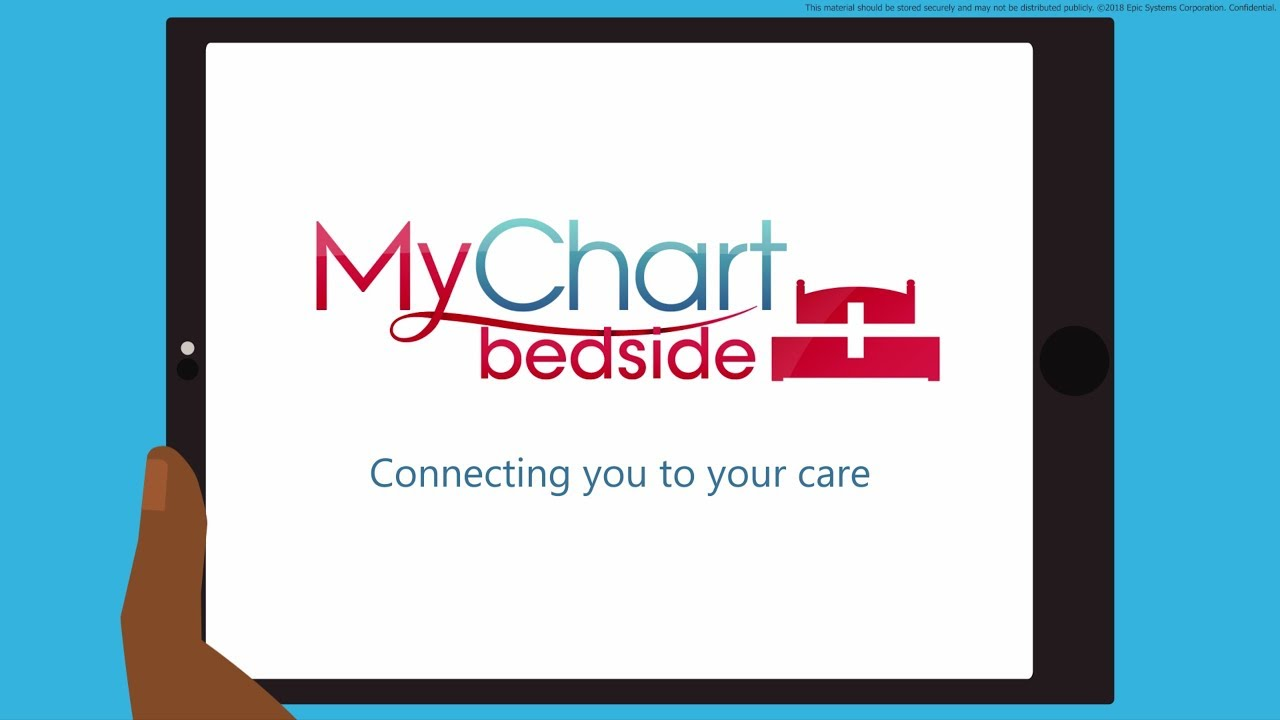 Introduction To Mychart Bedside For Patients English Language Epic
