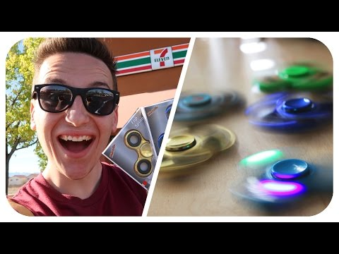Thumbnail: BEST 7-ELEVEN LED FIDGET SPINNERS! (CRAZY UNBOXING) (Hand Spinners)