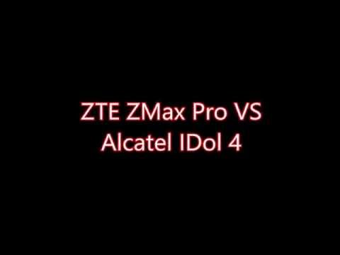 zte zmax pro vs alcatel idol 4 simply