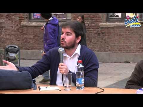 Debate sobre educacion entre el Diputado Jaime Bellolio y Giorgio Jackson en la UC