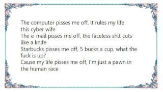 Chris Caffery - Pisses Me Off Lyrics