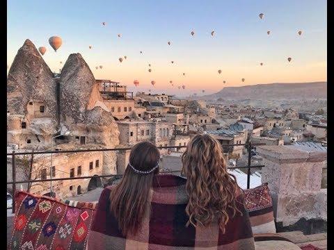 FOLLOW ME TO CAPPADOCIA   TURKEY PART 1   EMIRATES CABIN CREW