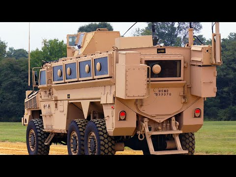 Stunning Video Of The U.S. MRAP Vehicles During Mobilization Training