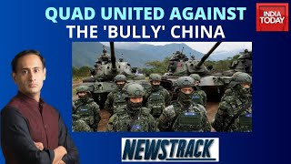Taming The Dragon: How Can Quad Counter China's Military Aggression? | Newstrack With Rahul Kanwal
