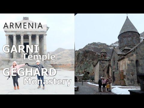Garni Temple + Geghard Monastery L Armenia Travel