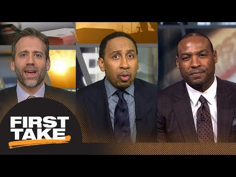 Stephen A. goes off on Max and Darren Woodson for takes on Eagles-Falcons | First Take | ESPN