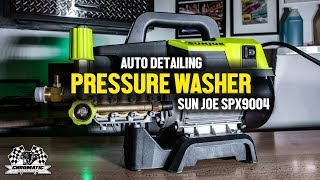 Auto Detailing Pressure Washer -  SUNJOE SPX9004 Pro First Look