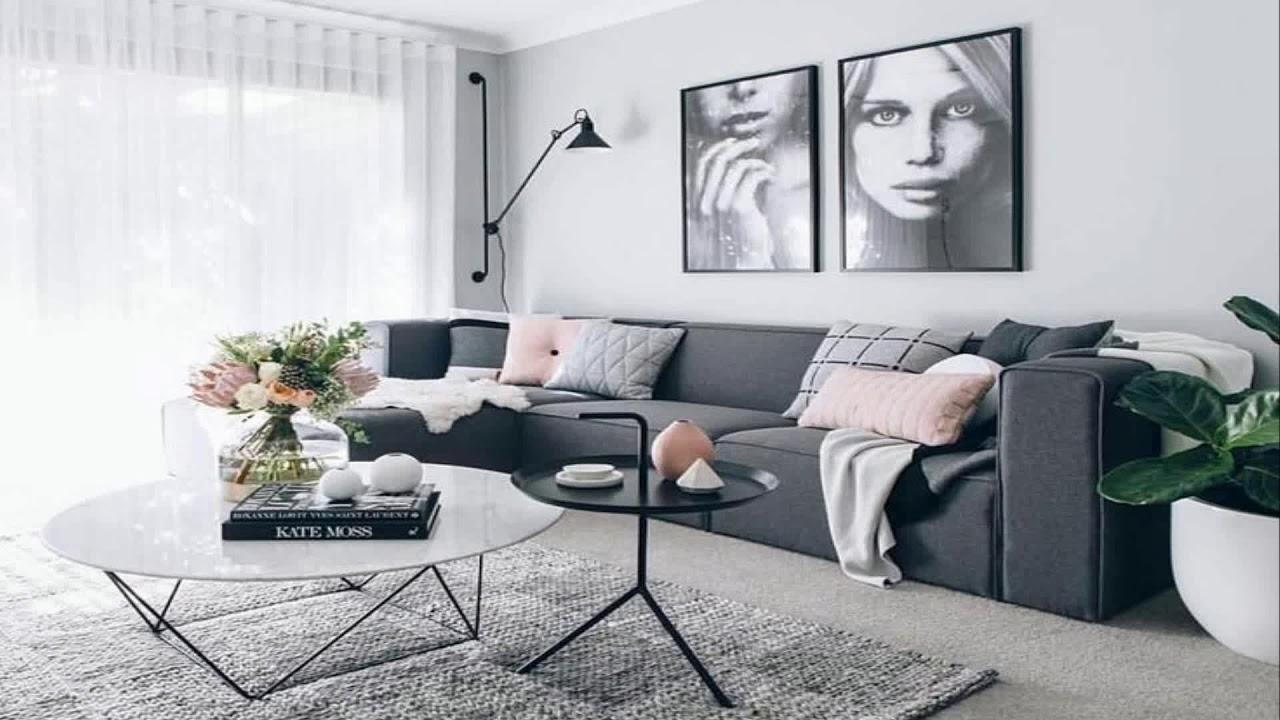 Grey Sofa Living Room Ideas Pinterest Youtube