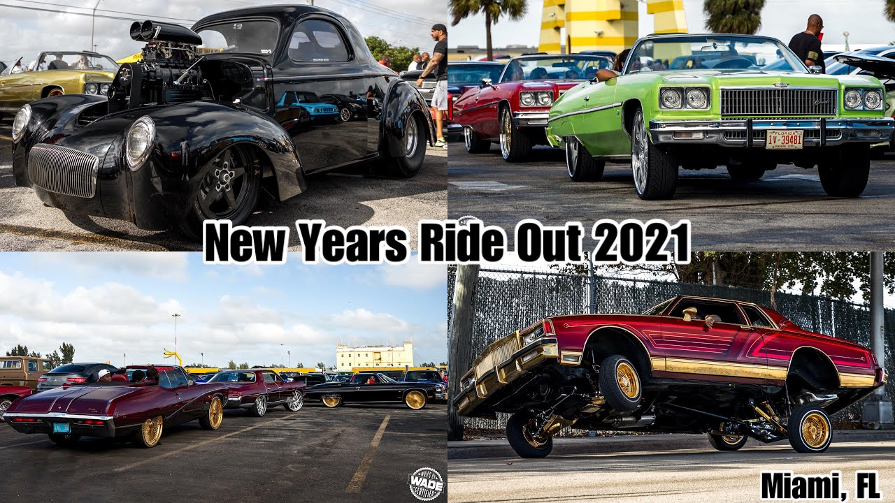Whips By Wade : Donks, Lowriders, & More at New Years Ride Out : Miami hosted by @JuiceHeadzUp 4