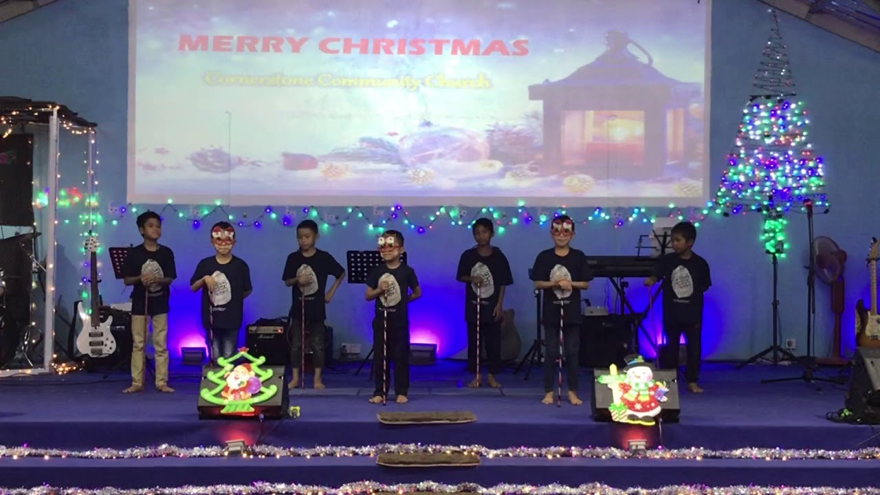 Rocking Around Christmas Trees by Grace Children's Home of Caleb Laltinhrem - YouTube