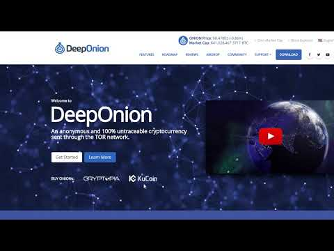 DeepOnion (ONION) | BEST PRIVACY COIN FOR CRYPTO PORTFOLIO