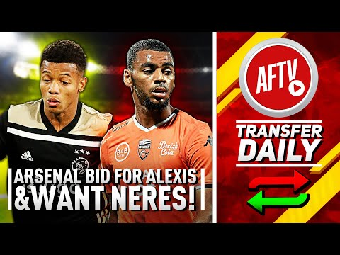 Arsenal Make To Make 3rd Bid For Alexis & Neres Wanted!   AFTV Transfer Daily