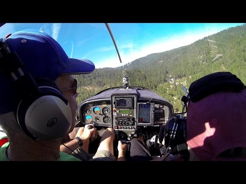 North Fork Stanislaus River Wild Trout Search By Airplane & Boat