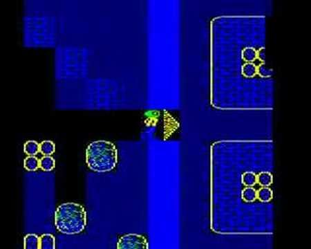BBC Micro game Repton