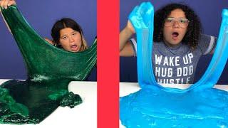 Twin Telepathy Slime Challenge! Giant Slime Edition!