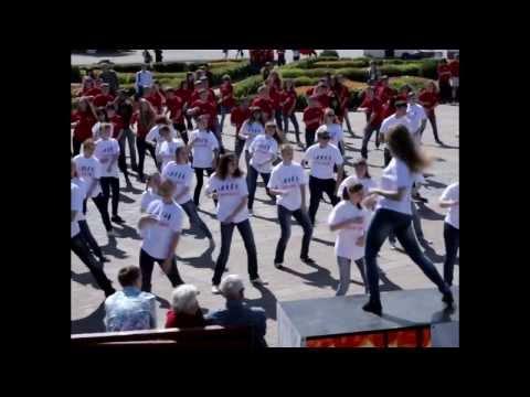 Ритм сердца Кострома - Самый массовый флешмоб ФМ2013