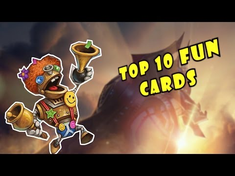 Hearthstone - Top 10 Fun Cards Leaving The Standard Format