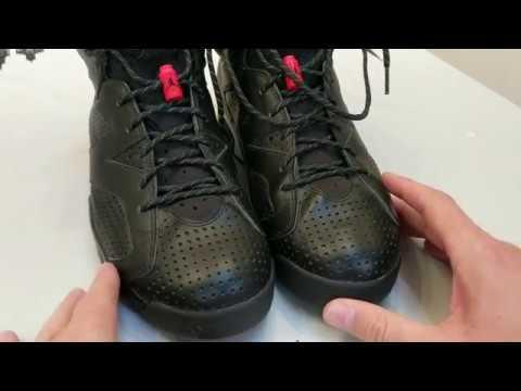 Nike Air Jordan 6 Black Cat