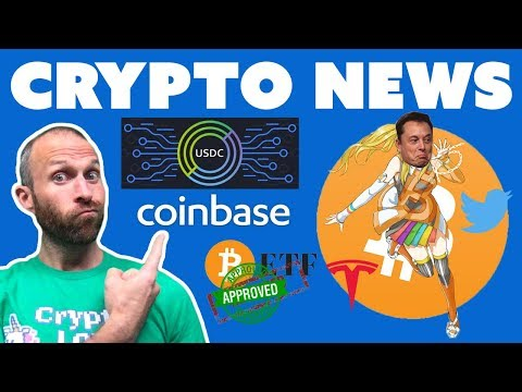 Coinbase $USDC Stablecoin | ETF Approval Likely | Elon's Bitcoin Mistake