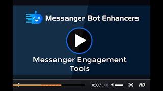 Messenger Engagement Plugin of XeroChat Add on Video