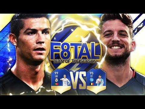 FIFA 17: F8TAL TOTS vs. TisiSchubech 🔥🏆