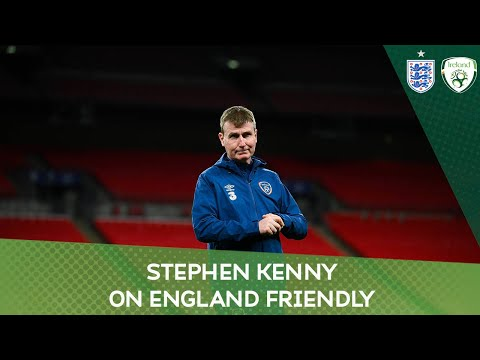 PRESS CONFERENCE   Ireland manager Stephen Kenny on England friendly
