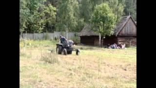 Ciągnik SAM - praca w polu (Muzeum Wsi Radomskiej)