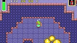 The Legend of Zelda - A Link to the Past & Four Swords - A Link To The past (GBA)Boss 3: Moldorm - User video