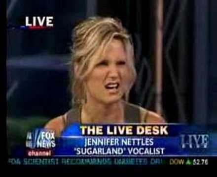 Jennifer Nettles on Fox News