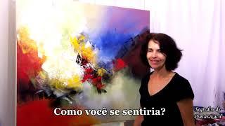 Pintura em tela - Criatividade