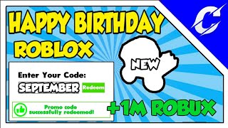 [ HBD ROBLOX ] NEW SECRET CODES IN SEPTEMBER 2019 | NEW DOMINUS & +1M ROBUX