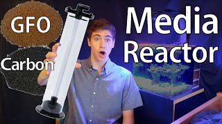 how to set up a media reactor with gfo or carbon from tb aquatics