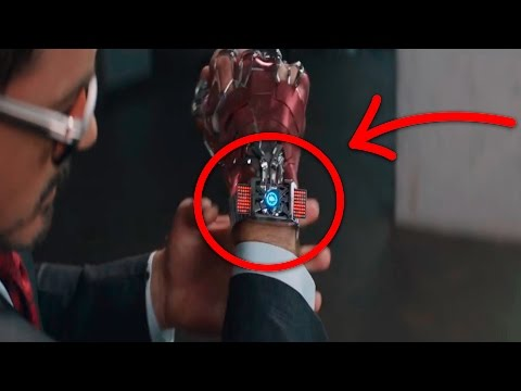 Civil War - La Tecnología de Iron Man - Nanotecnologia - Traje