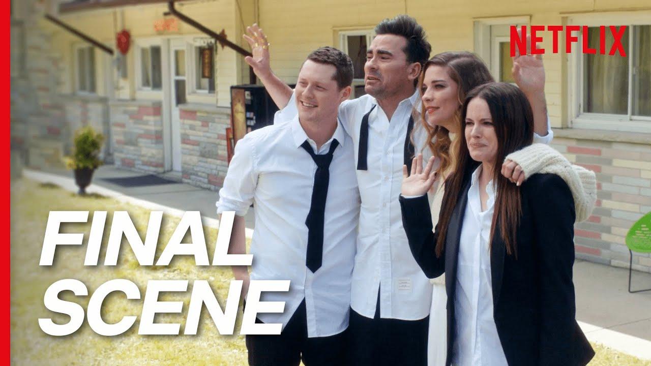 Download Goodbye Schitt's Creek   The Finale Scene (Season 6)   Netflix