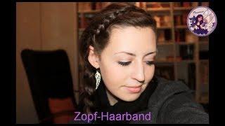 Blitzschnelle Frisur: Geflochtenes Haarband Thumbnail