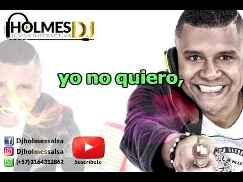 Descartame / Pedro Arroyo / Video liryc letra / Holmes DJ