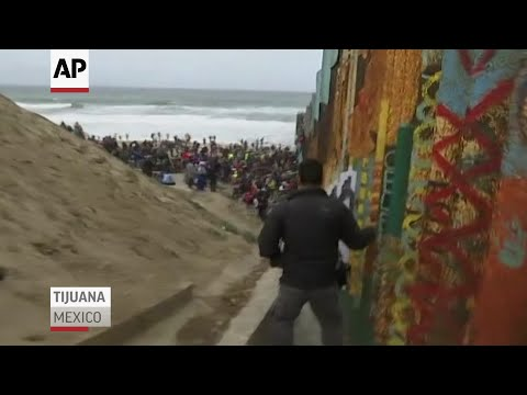 Caravan of Asylum Seekers Reaches US Border