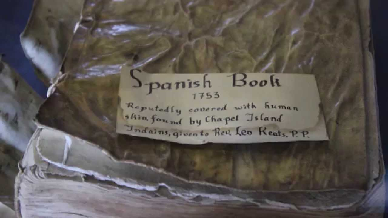 Book Covered In Human Skin : Human skin covered book anthropodermic bibliopegy st