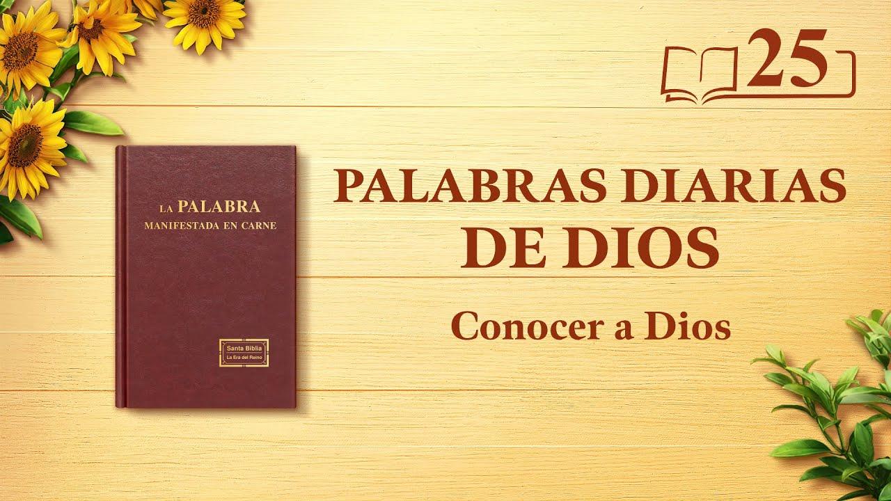 """Palabras diarias de Dios   Fragmento 25   """"La obra de Dios, el carácter de Dios y Dios mismo I"""""""
