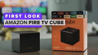 Amazon Fire TV Cube first look