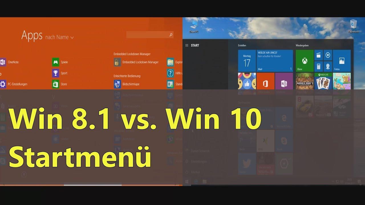 Windows 8.1 Startmenü