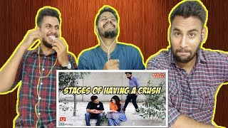 Indian Reaction On STAGES OF HAVING A CRUSH KhujLee Family | Awesamo speaks | Krishna Views