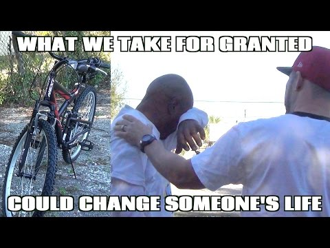 Life Changing Gift To A Homeless Man - Will make you cry! - Real Social Experiment